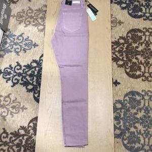 Blank NYC Light Purple Skinny Jean